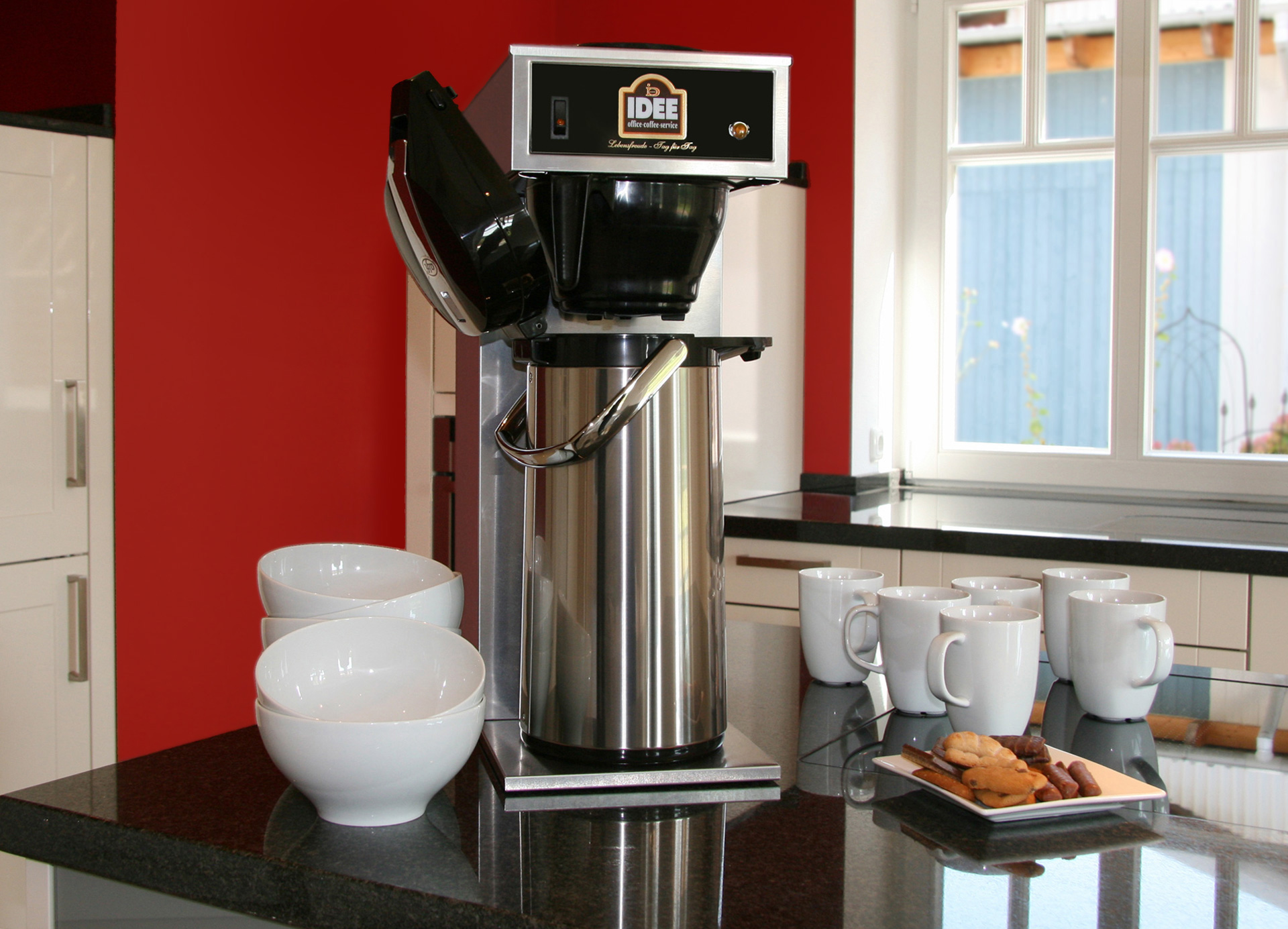 Idee Office Coffee Service Kaffeemaschinen Fur Buro Und Betrieb